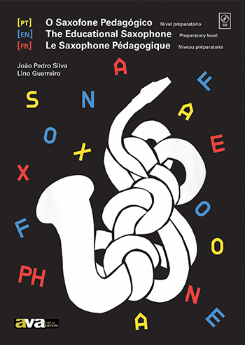 Livro Saxofone Pedagógico